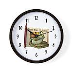 Asp N. Snake Wall Clock