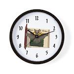 Bennie Bat Wall Clock