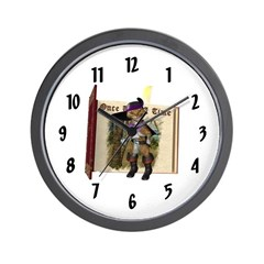 Puss 'N Boots Wall Clock