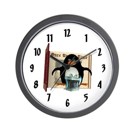 Pongo Penguin Wall Clock