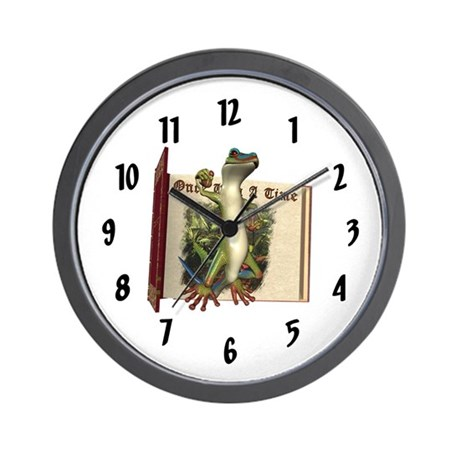 Mr. Gecko Wall Clock