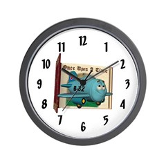 Emotiplane Wall Clock