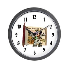 Billie Bull Wall Clock