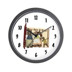 The Three Bears Wall Clock