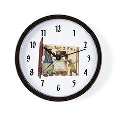 The Three Bears Wall Clock