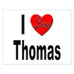 I Love Thomas Small Poster