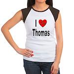 I Love Thomas Women's Cap Sleeve T-Shirt