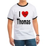 I Love Thomas (Front) Ringer T