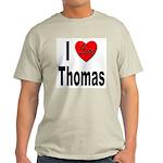 I Love Thomas (Front) Light T-Shirt