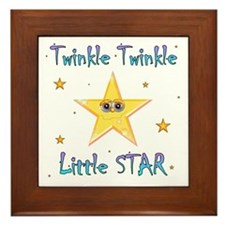 Twinkle Twinkle Little Star, Framed Tile