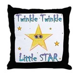 Twinkle Twinkle Little Star, Throw Pillow