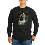 Ophelias Cocker Long Sleeve Dark T-Shirt