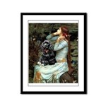 Ophelias Cocker Framed Panel Print