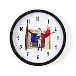 Alpha Man Wall Clock