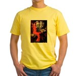 Lady / Cocker Spaniel Yellow T-Shirt