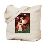 Angel / Cocker Tote Bag