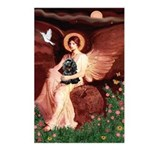 Angel / Cocker Postcards (Package of 8)