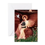 Angel / Cocker Greeting Cards (Pk of 20)
