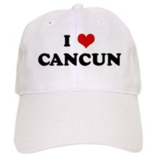 I Love CANCUN Baseball Cap