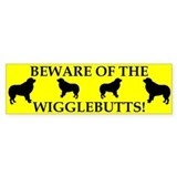 Beware Bumper Car Sticker
