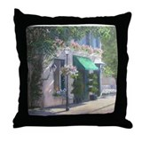 Cute Awning Throw Pillow