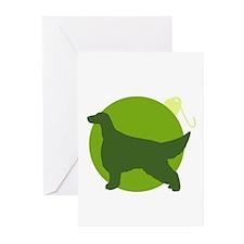 Irish Setter Ornament Greeting Cards (Pk of 10)