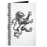 Renaissance Lion (black) Journal