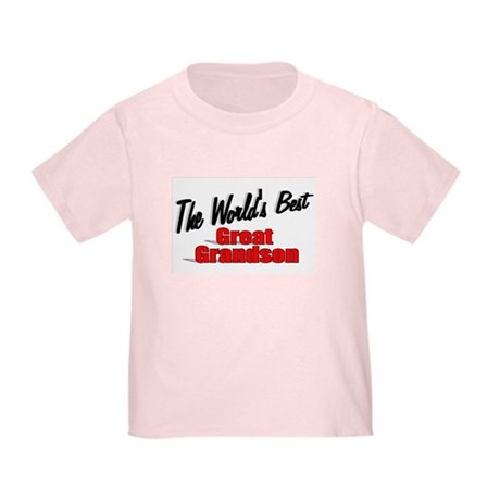&quot;The World's Best Great Grandson&quot; Toddler T