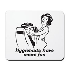 Funny Dental Hygiene Mousepad