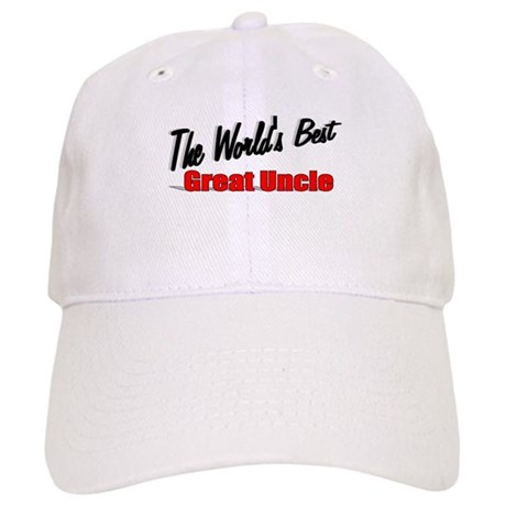 """The World's Best Great Uncle"" Cap"