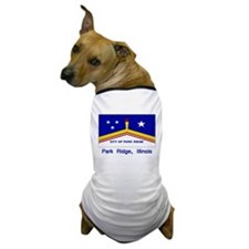 Park Ridge IL Flag Dog T-Shirt
