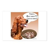 Irish Setter Turkey Postcards (Package of 8)