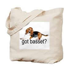 got basset? Tri-color Tote Bag