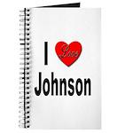 I Love Johnson Journal