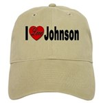 I Love Johnson Cap