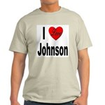 I Love Johnson Light T-Shirt