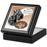 Kerry Blue Turkey Keepsake Box