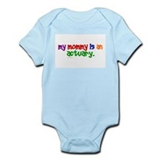 My Mommy Is An Actuary (PR) Infant Bodysuit