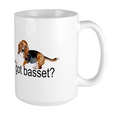 got basset? Tri-color Mug