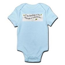 eleven o'clockish bee Infant Bodysuit