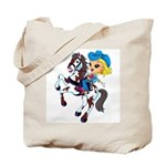 Cute Cowgirl Tote Bag