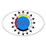 Yaqui Oval Decal
