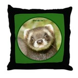 Ferret Gift Throw Pillow