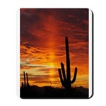 Saguaro Sunset Mousepad