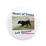 "HOTLR Black Dog 3.5"" Button (100 pack)"