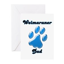 Weimaraner Dad3 Greeting Cards (Pk of 20)