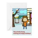 Happy Holidays from Emily Yeung! (Pk of 10) (a)