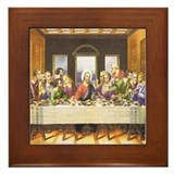 LAST SUPPER Framed Tile