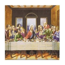 LAST SUPPER Tile Coaster