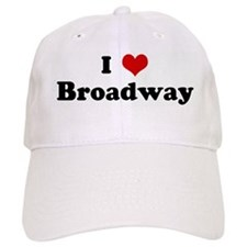 I Love Broadway Baseball Cap